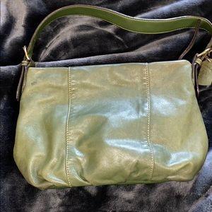 St. John's Bay Green Medium Shoulder Bag